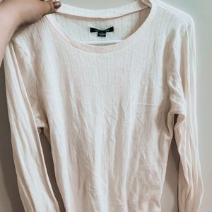 White American Eagle Long Sleeve Shirt